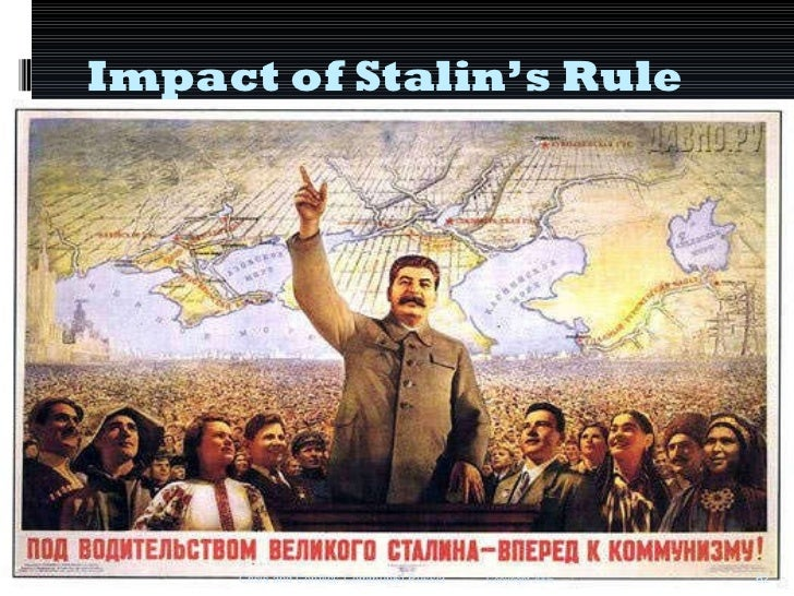 Life in USSR under Stalin