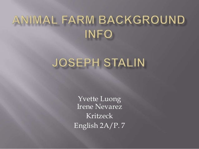 Joseph Stalin Critical Essays