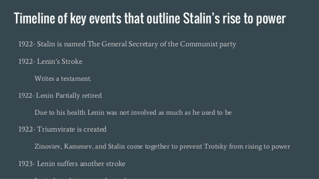 an analysis of the stalins rise to power The rise of joseph stalin edit joseph stalin's rise started after the october revolution when the tsar was taken out joseph stalin of power and the bolsheviks took over.