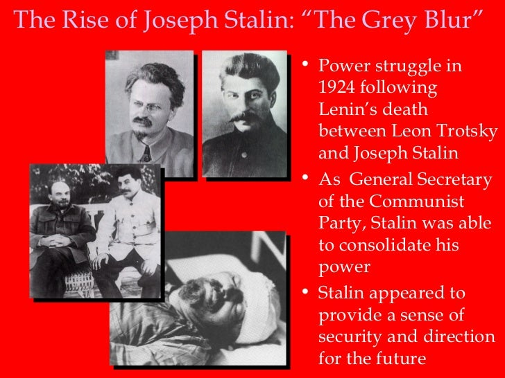Why did Stalin become leader after Lenin, not Trotsky? Essay Sample