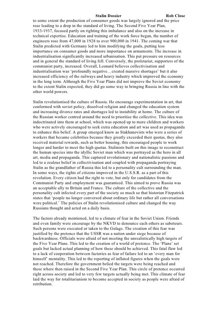 stalins rise to power paper 3 essay Read this full essay on stalins rise to power question: how far did stalin achieve and maintain what kruchev described as the accumulation of immense stalin's rise to power was a combination of his ability to manipulate situations and the failure of others to prevent him from taking power, especially.