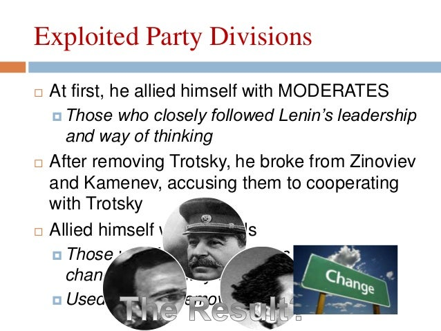Why did stalin come to power and not trotsky essay