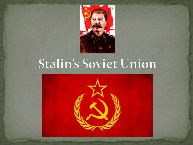 a history of stalins rapid industrialization plan in soviet union History 1c: lecture 10 the stalin first five-year plan-- stalin pushes through program of rapid that glistens in the soviet union.