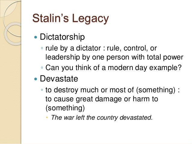 stalins policy of collectivisation essay