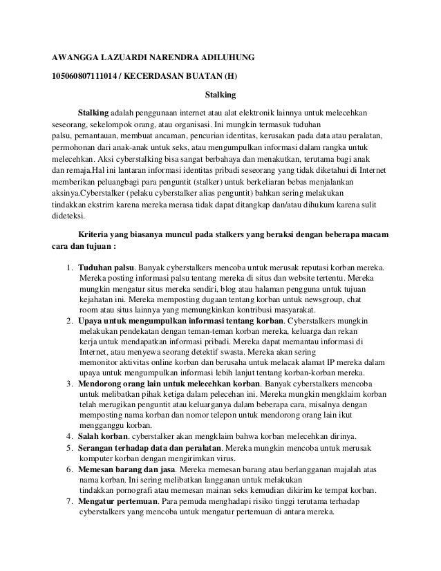 AWANGGA LAZUARDI NARENDRA ADILUHUNG105060807111014 / KECERDASAN BUATAN (H)                                            Stal...