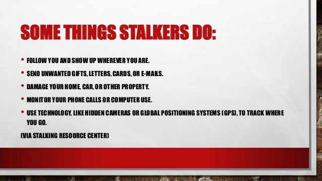 Hidden Cameras For Home >> Stalking - How to Protect Yourself and Loved Ones