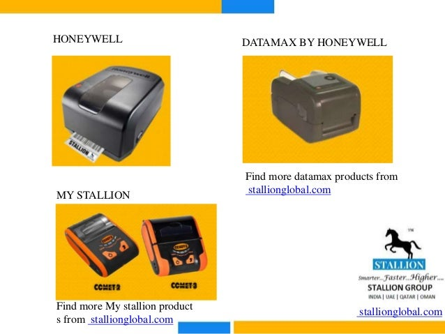 Barcode Printers and Scanners