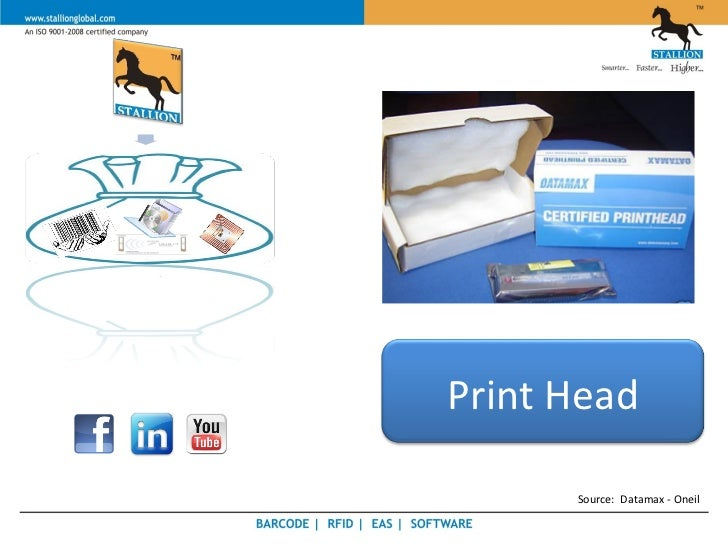 Print Head      Source: Datamax - Oneil