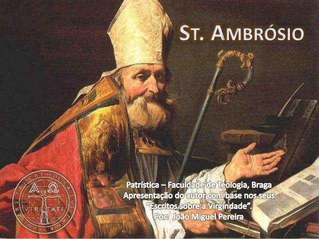 1 DADOS HISTÓRICOS A partir da Catequese do Papa Bento XVI na audiência geral de 24 de Outubro de 2007, in: https://w2.vat...