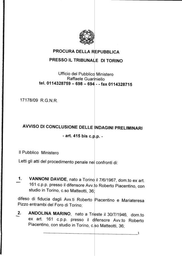 Stamina, avviso di chiusura indagini per Vannoni e il suo entourage