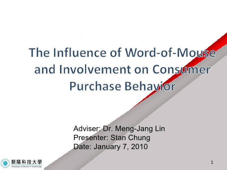 Adviser: Dr. Meng-Jang Lin Presenter: Stan Chung Date: January 7, 2010
