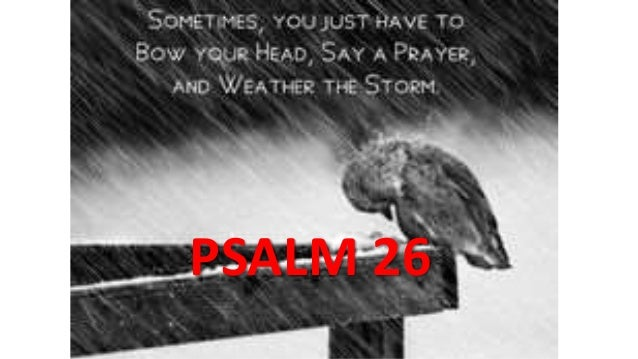 PSALM 26