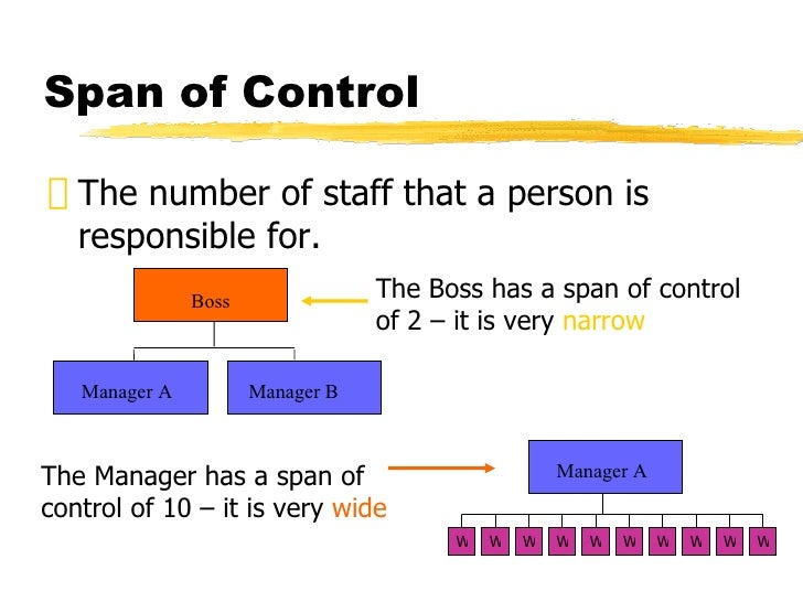 span control in management