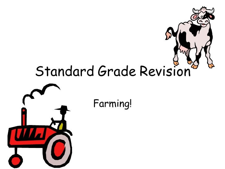 Standard Grade Revision Farming!