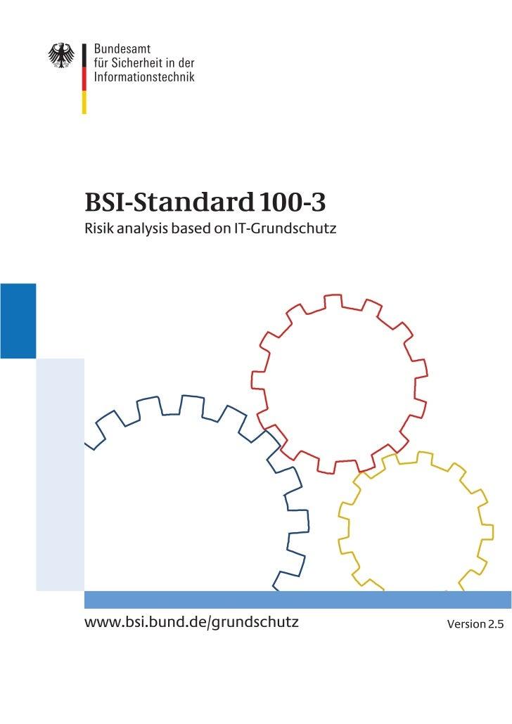 © 2008 byBundesamt für Sicherheit in der Informationstechnik (BSI)Godesberger Allee 185-189, 53175 Bonn