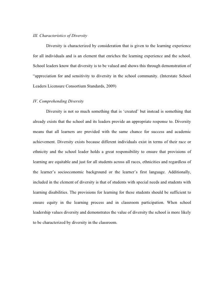 standard essay 2 iii characteristics