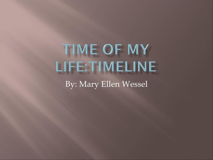 By: Mary Ellen Wessel