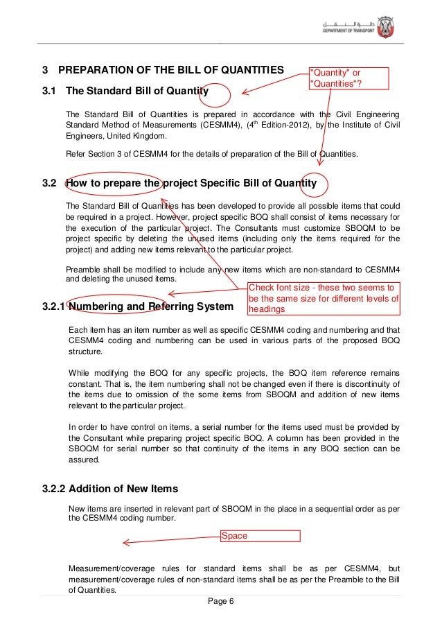 Page 7 3.2.3 Addition of New Work Sections If may be required to create a new section for any particular project depending...