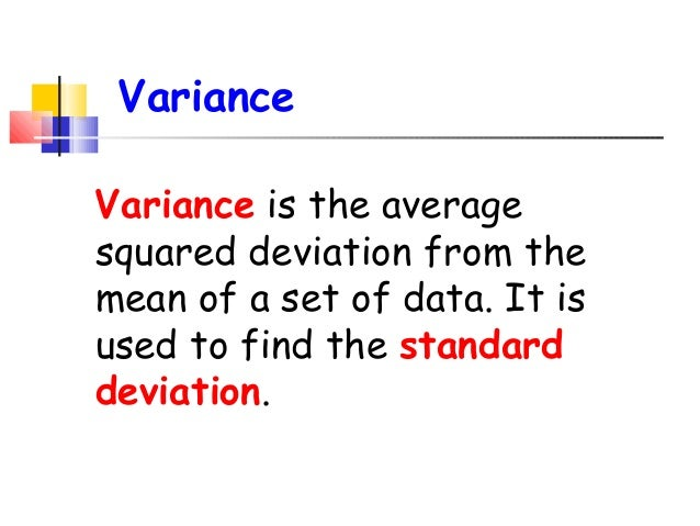 how to find standard deviation from mean