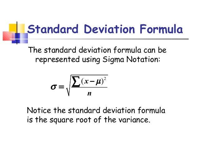 Standard deviation 3 standard deviation formula ccuart Images