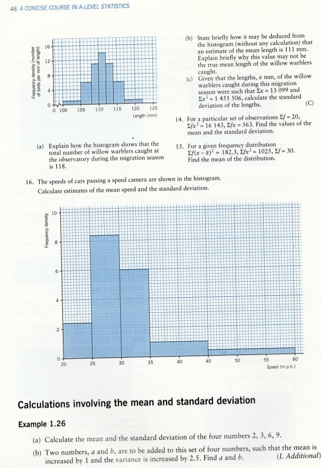Standard deviation and variance 10 ccuart Choice Image
