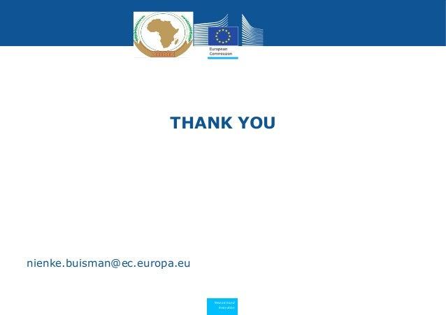 Research and Innovation THANK YOU nienke.buisman@ec.europa.eu