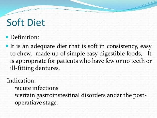 List Of Soft And Liquid Foods