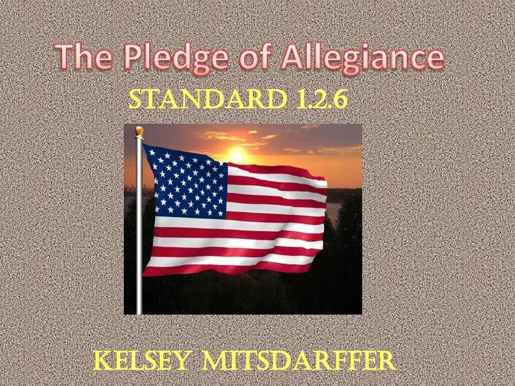 Standard 1.2.6     Kelsey Mitsdarffer
