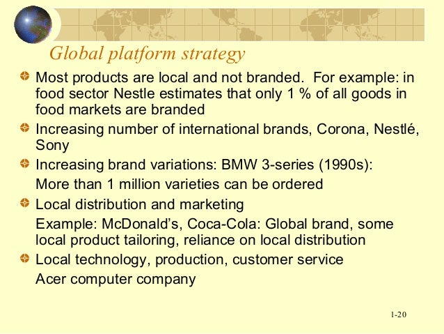 mcdonalds standardisation of products International availability of mcdonald's products jump to navigation jump to search this article has multiple issues please help improve it or.