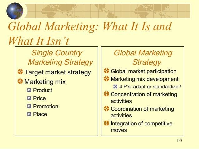 adaptation in international marketing