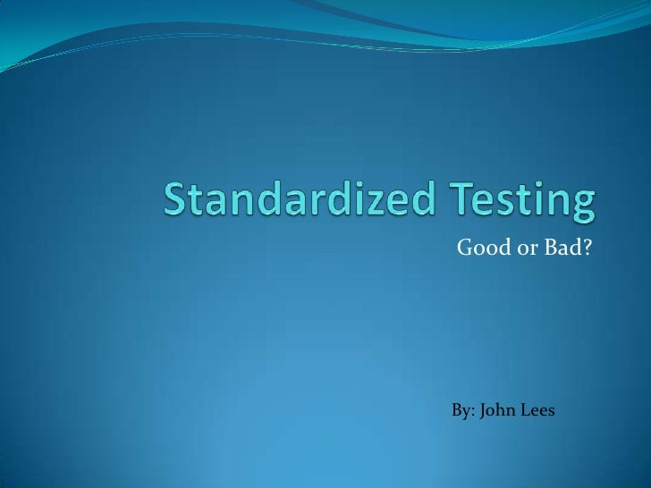 the controversy of standardized testing essay The standardized testing debate essay standardized testing is one of the most hotly debated topics in education experts in education have different views on the topic standardized testing refers to a testing method whereby students are subjected to the same assessment procedures set by examiners that intend to examine and score.