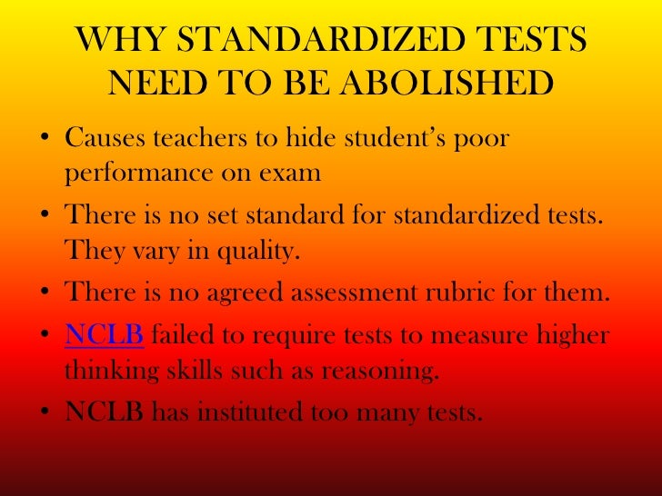 Why Standardized Tests Don't Measure Educational Quality