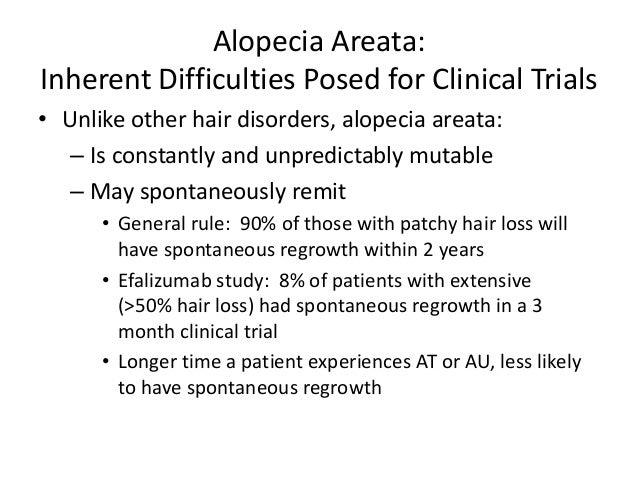 Standardizing Outcome Measures in Alopecia Areata Slide 3