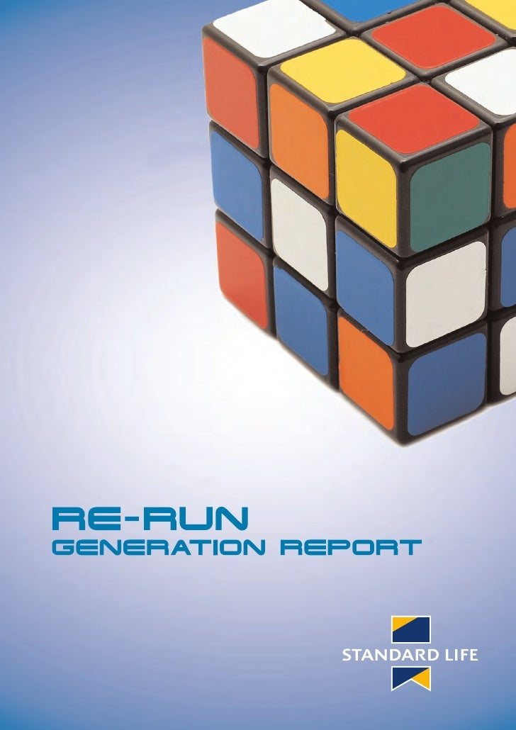 Re Run Generation Report                           They say that if you want to look for the source of power, follow the  ...