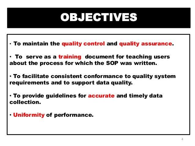 Standard operating procedure in pharmaceutical industries