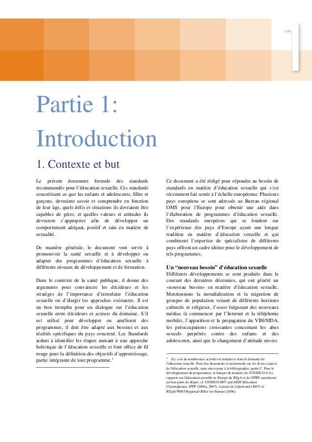 13  OMS Europe et BZgA Standards pour l'éducation sexuelle en Europe  1.4 Diversité des modèles d'éducation sexuelle en Eu...
