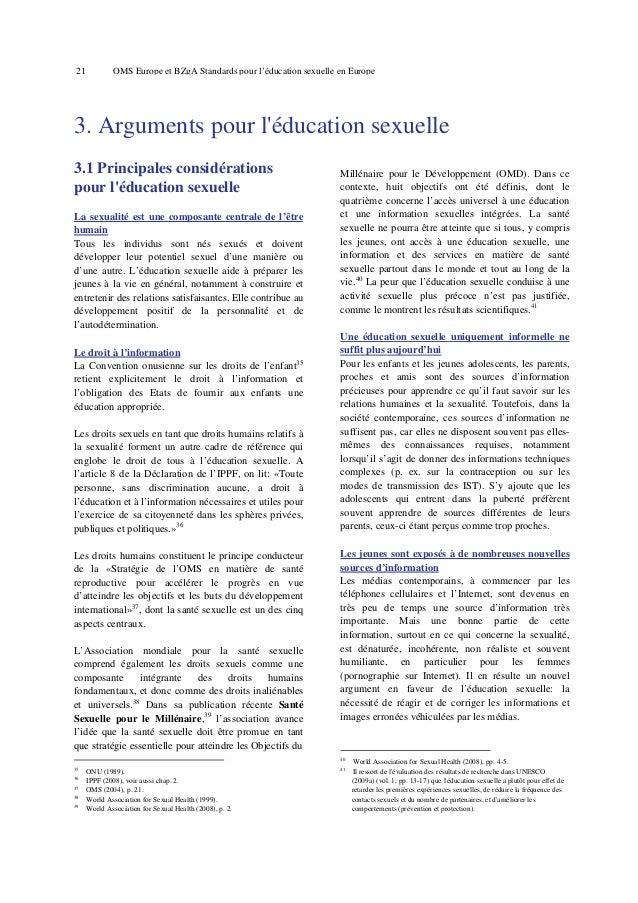 25  OMS Europe et BZgA Standards pour l'éducation sexuelle en Europe  promènent nus dans la maison et touchent leurs parti...
