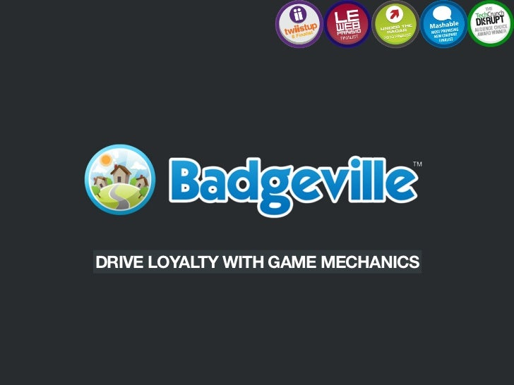 DRIVE LOYALTY WITH GAME MECHANICS