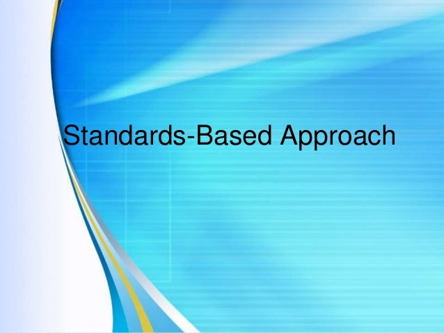 dissertations standards-based curriculum All graduate theses and dissertations graduate studies 5-2017 a descriptive case study of writing standards-based individualized education plan goals via.