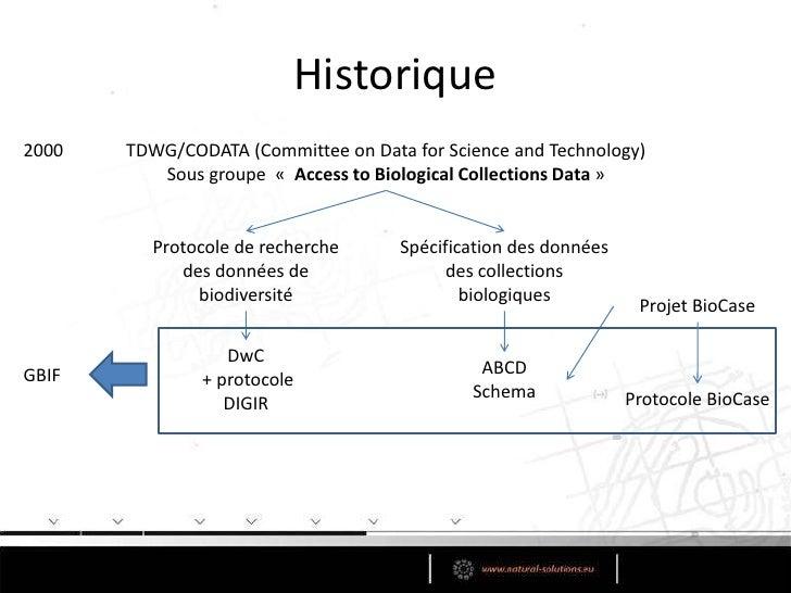 TDWG<br />TaxonomicDatabaseWorking Group<br />Biodiversity Information Standards<br />Uneorganisationinternationale à but...