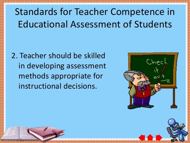 teachers competence Professional competence of teachers: effects on instructional quality and student development article (pdf available) in journal of educational psychology 105(3):805.