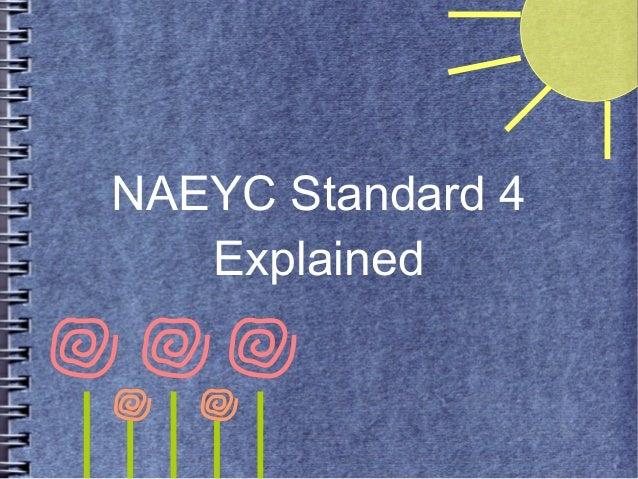 NAEYC Standards
