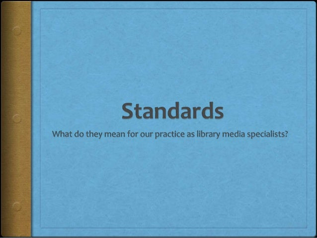 What is a standard?http://www.flickr.com/photos/pinksherbet/3892279527/