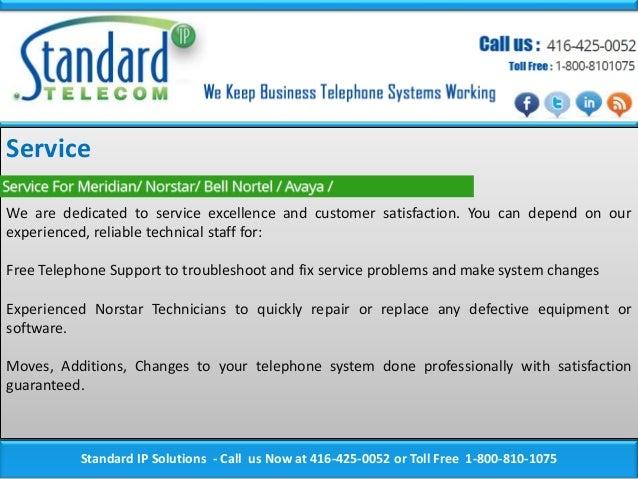 Telephone Systems Toronto, Meridian Telephone, Norstar