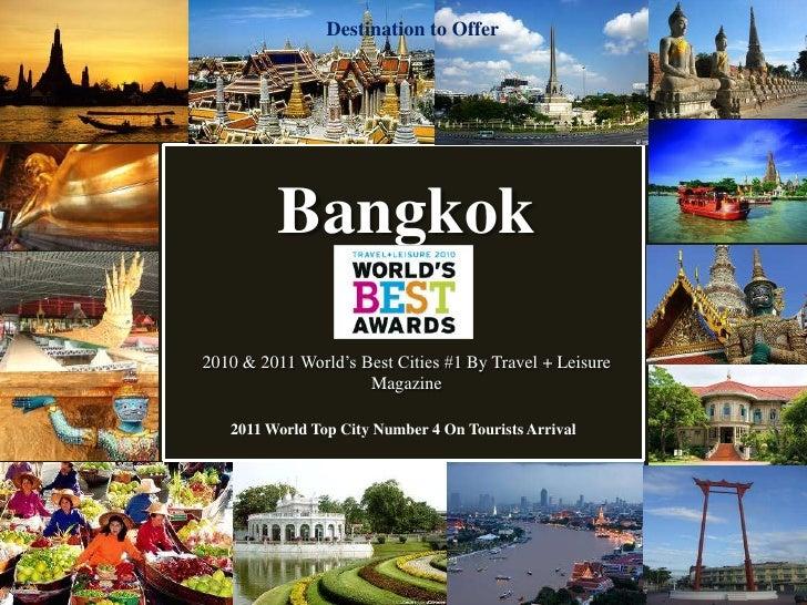 Standard Tour Thailand 2012 Product