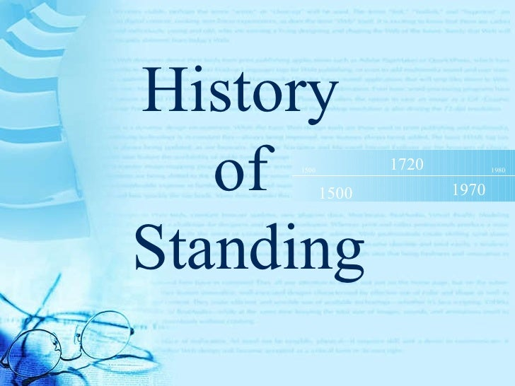 Standing 101 (Standing Therapy for the People with Disabilities) Slide 3