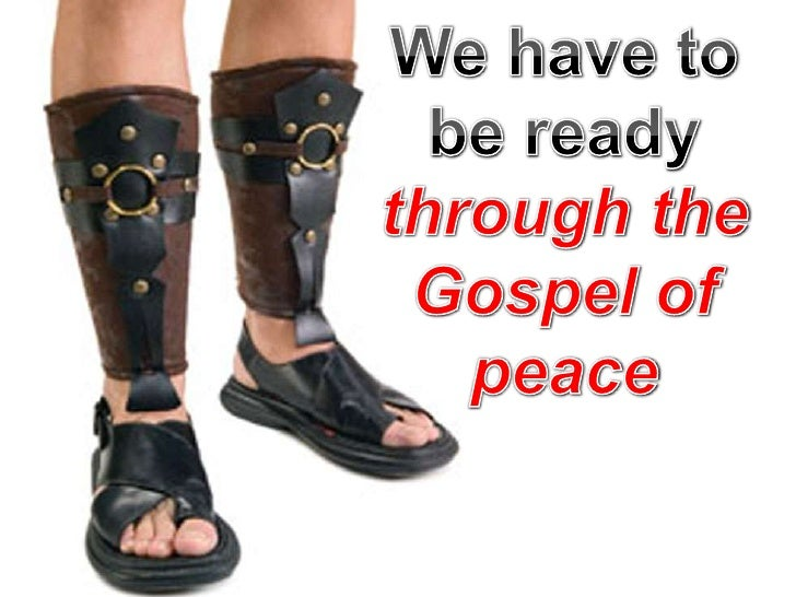 Image result for Shoes of the Gospel of Peace