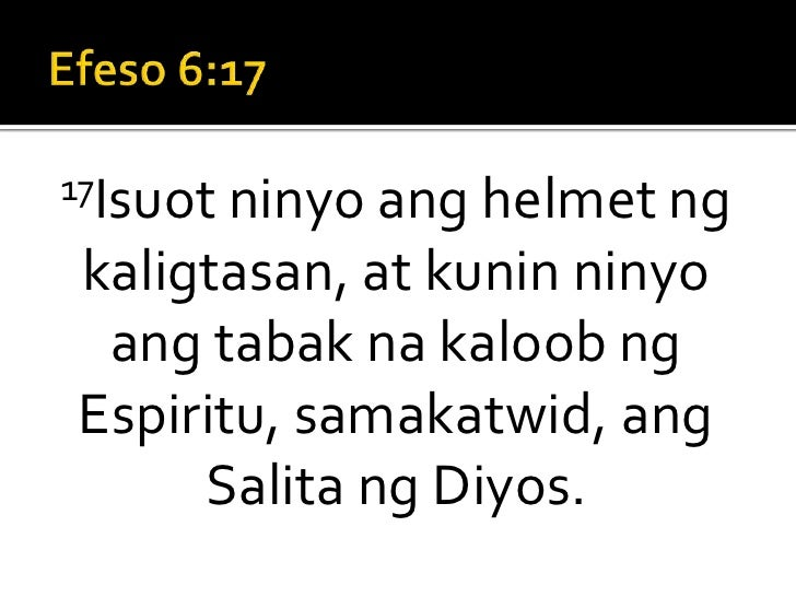Standing Strong Sermon 7 (Tagalog)