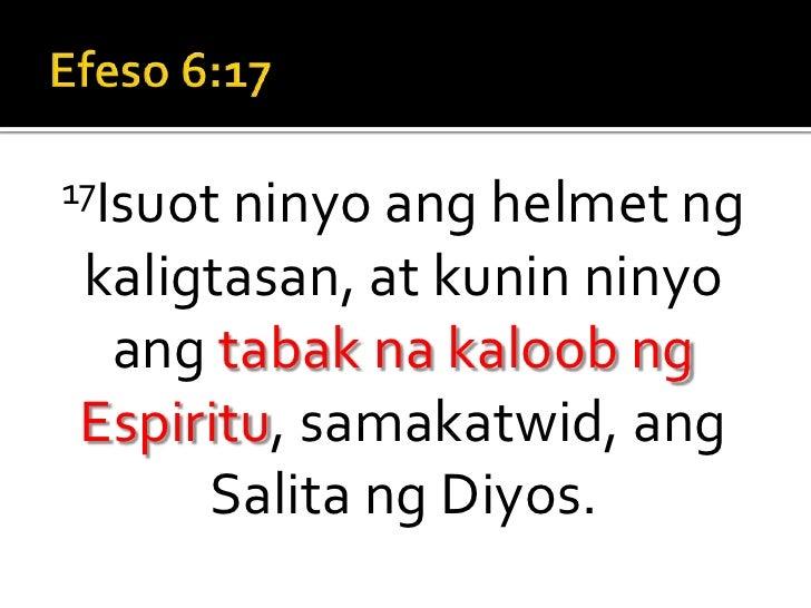 Standing Strong Sermon 7 (Tagalog) Slide 2