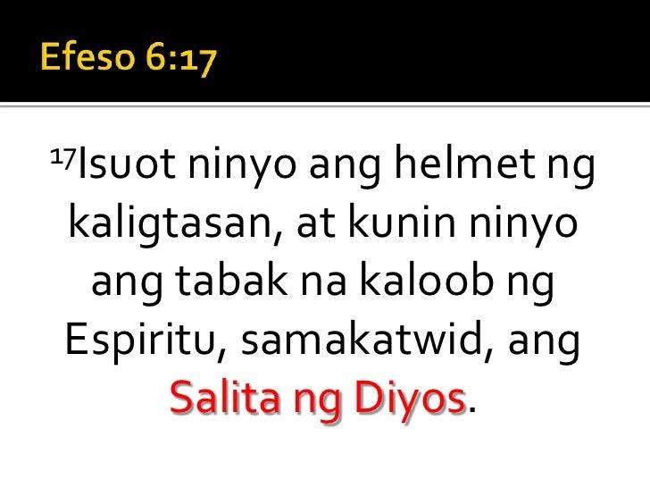 Standing Strong Sermon 7 (Tagalog) Slide 3